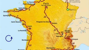Tour De France Stage Map File Route Of the 1962 tour De France Png Wikimedia Commons