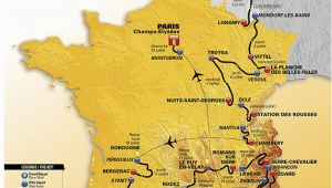 Tour De France Stage Maps Die Strecke Der tour De France 2017