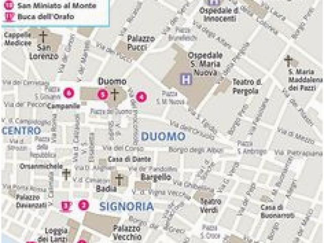 Tourist Map Of Florence Italy Printable 72 Best Florence