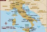 Tourist Map Of Italy with Cities Map Of Italy