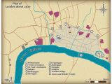 Town Maps England This Map Shows the Size and Layout Of Medieval London In Around 1300