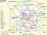 Train Map Paris France Paris Metro Wikipedia