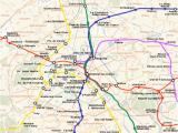 Train Map Paris France Reseau Express Regional Wikipedia