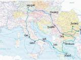 Train Maps Europe Pinterest