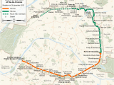 Train Route Map France A Le De France Tramway Lines 3a and 3b Wikipedia