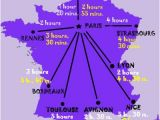 Train Travel France Map France Maps for Rail Paris attractions and Distance