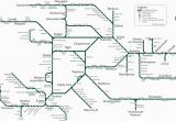 Train Travel In England Map Great Western Train Rail Maps