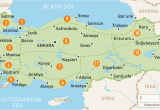 Turkey Map Europe asia Map Of Turkey Turkey Regions Rough Guides Rough Guides