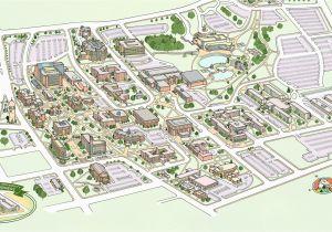 U Michigan Campus Map Michigan State University Map Fresh Colorado ...
