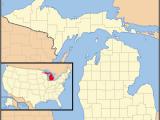 U Of Michigan Map 1955 In Michigan Wikipedia