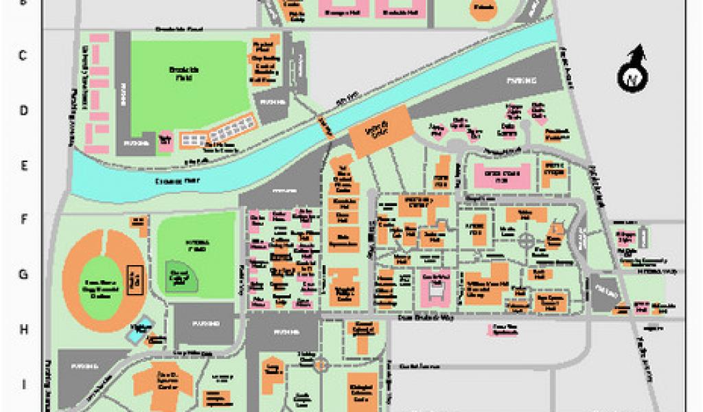 U Of oregon Campus Map Uop E Campus Best Car Update 2019 ...