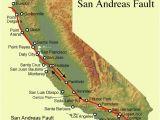 Ukiah California Map California Map Fault Lines Authorities Warn Of Risk Of Major
