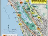 Ukiah California Map California Map Fault Lines Hayward Fault Zone Travel Maps and