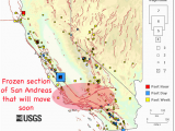 Ukiah California Map California Map Fault Lines Image Result for Map Of the San andreas