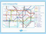 Underground to Canada Map London Underground Map