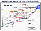 Underground to Canada Map Tennessee Railroad Map Underground Railroad Tennessee Underground