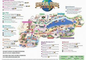 Universal Studios California Park Map Universal Studios California Map New Universal Studios Park Map
