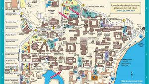 University Of California Santa Barbara Map Ucsb Campus Map Actual Bucketlist Pinterest Campus Map