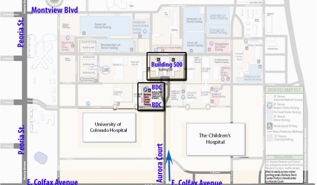 University Of Colorado Boulder Campus Map Barbaradaviscenter org ...