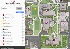 Colorado Boulder Campus Map.University Of Colorado Boulder Campus Map Campus Maps Colorado Mesa