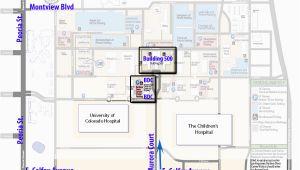 University Of Colorado Denver Campus Map Barbaradaviscenter org