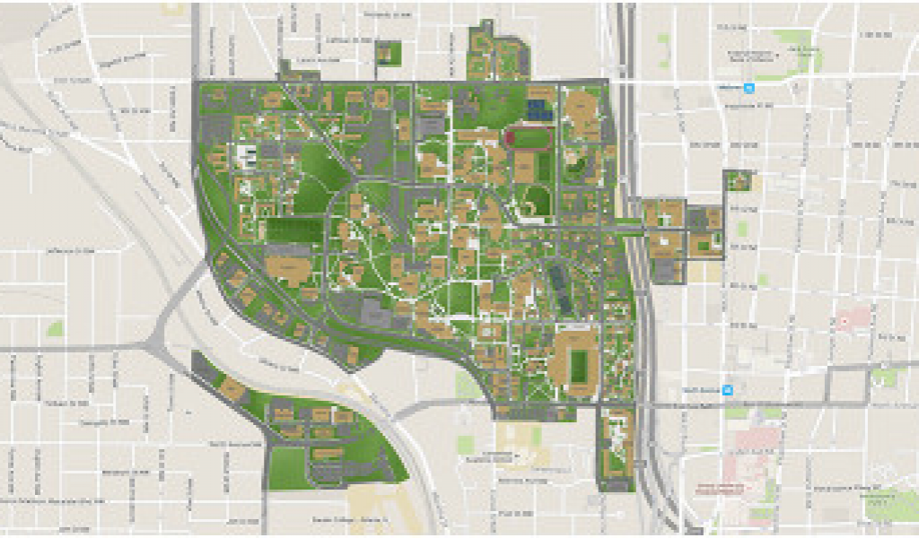 Map Of Georgia Tech Campus.University Of Georgia Campus Map Georgia Tech Secretmuseum
