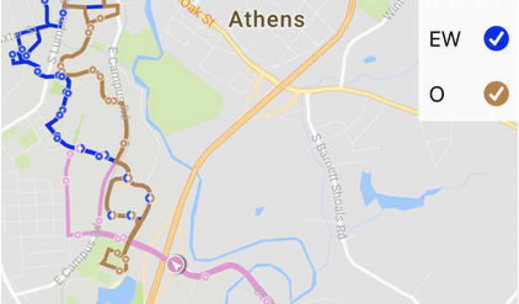 University Of Georgia Parking Map Uga Parking Map Maps ...