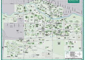U Michigan Campus Map.University Of Michigan Campus Map Michigan State University Map