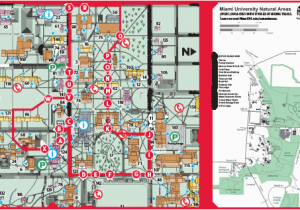 U Michigan Campus Map.University Of Michigan North Campus Map Map Of The University Of