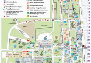 University Of Minnesota Campus Map Pdf Maps Minnesota State Fair