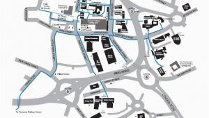 University Of New England Campus Map Campus Map Information Card Edition Campus Map Coventry