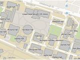 University Of north Carolina Campus Map Nc State University