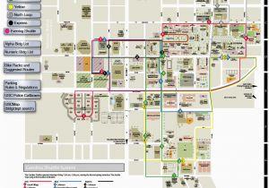 University Of north Carolina Campus Map University Of south ...