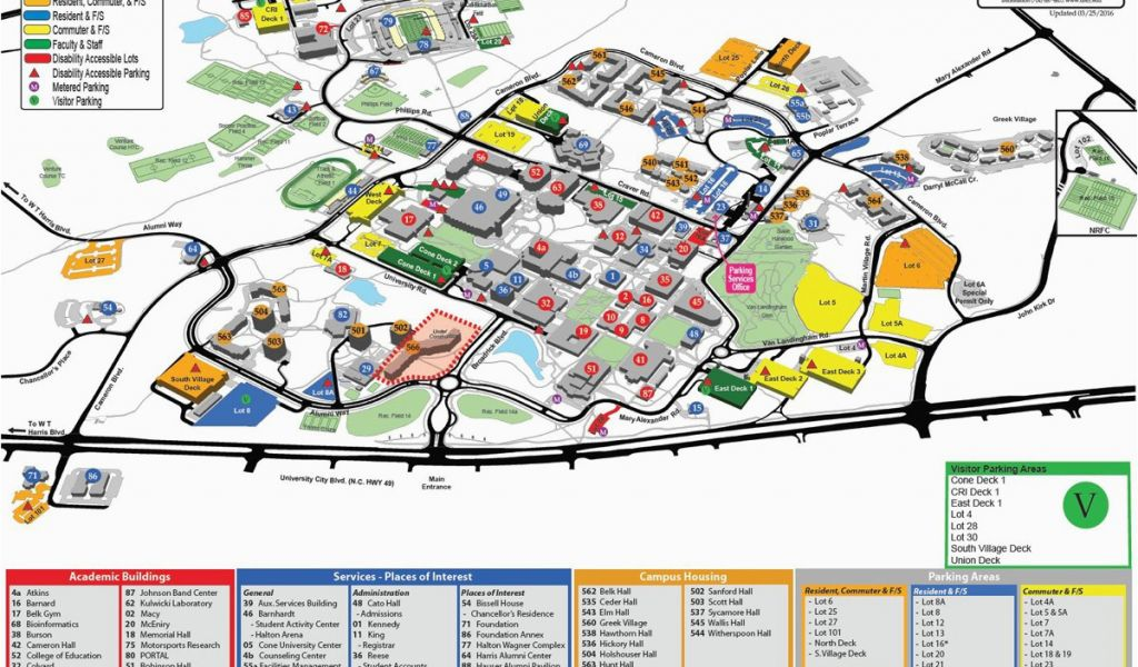 University Of north Carolina Chapel Hill Campus Map Unc ... on chapel hill nc county map, cal state hayward campus map, univ of md campus map,