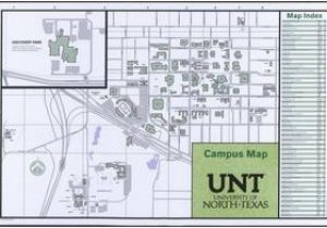 University Of north Texas Campus Map University Of north Texas Campus Map 2014 15 Side 1 Of 2