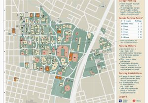 University Of north Texas Campus Map University Of Texas Parking Map Business Ideas 2013