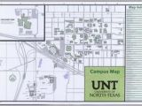 University Of north Texas Map University Of north Texas Campus Map 2014 15 Side 1 Of 2
