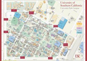University Of southern California Campus Map Penn State University ...