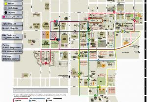 University Of southern California Campus Map Maps Parking ...