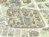 University Of Texas Campus Map Campus Maps