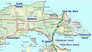 Up Map Of Michigan Map Of Eastern Upper Peninsula Of Michigan Trips In 2019 Upper