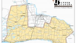 Upper Canada District School Board Map Ucdsb Schools Upper Canada District School Board
