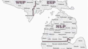 Upper Michigan Snowmobile Trail Map Dnr Snowmobile Maps In List format