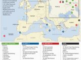 Us Air force Bases In Italy Map Us Military Bases In Germany Map Us Army Bases Europe Map United