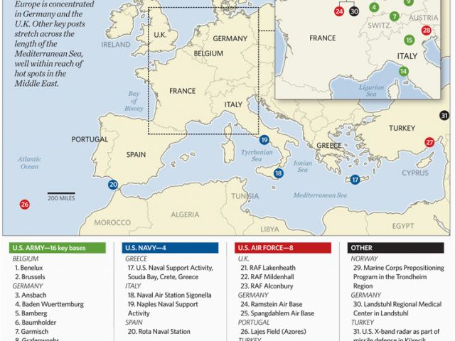 Map Of Germany Ramstein.Us Air Force Bases In Italy Map Us Military Bases In Germany Map Us