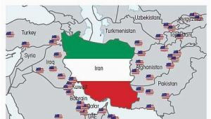 Us Air force Bases In Italy Map who S Threatening who Map Of Us Military Bases Surrounding Iran
