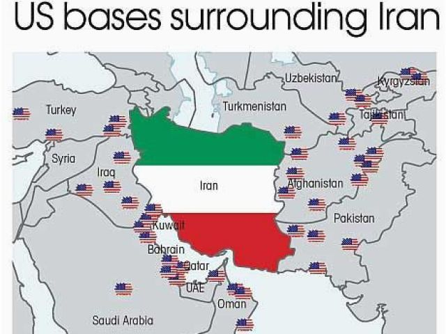 Us Air force Bases In Italy Map who S Threatening who Map Of ...