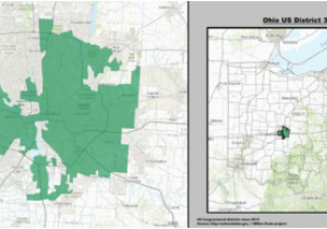 Us House Of Representatives Ohio Districts Map Us Election ...