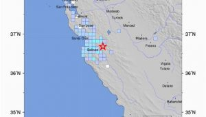 Usgs Gov Earthquake Map California M 4 1 12km S Of Tres Pinos Ca