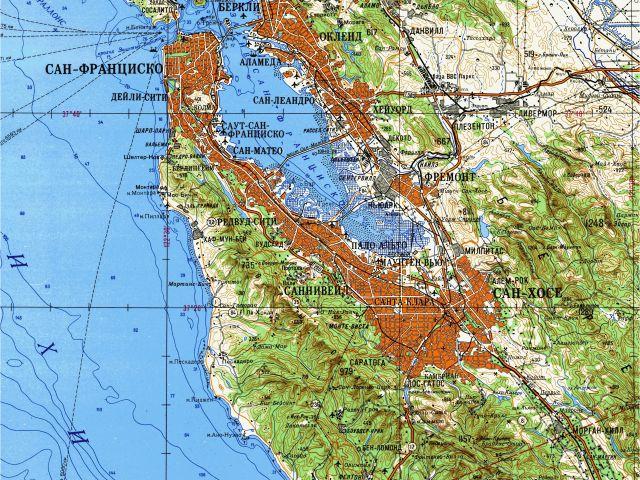 Usgs topo Maps California Us Elevation Map Google Best soviet ...